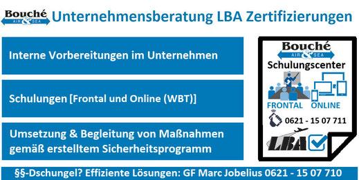 Unternehmensberatung LBA Zertifizierungen für Newcomer | Paket 1