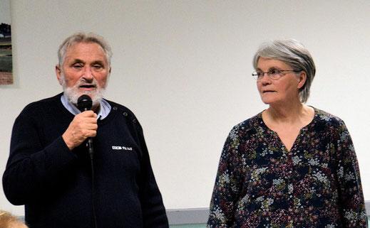 Danielle et Michel Godet