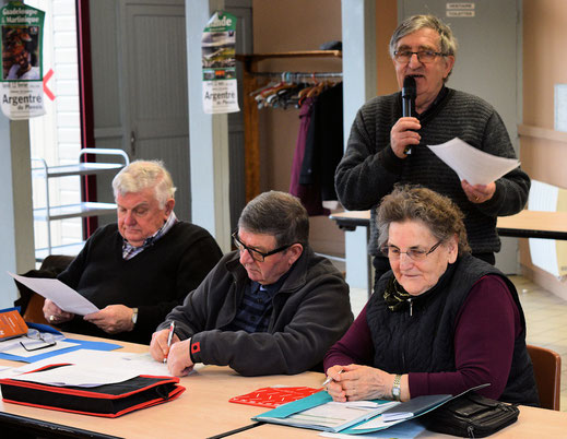 Gérard Molinier,  Joseph Jeuland,  Jean Pierre Mounier,  Lucienne Georgeault