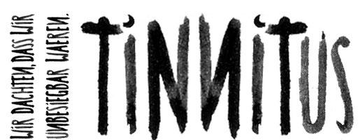 apollo-artemis, mode, design, nachhaltig, handgemacht, typografie, tusche, schrift, tinnitus, wir dachten, dass wir unbesiegbar waeren