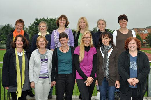 Mediatheks-Team im Juni 2012