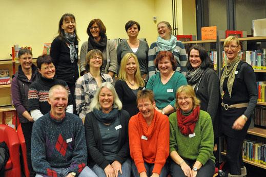 Mediatheks-Team im Januar 2013