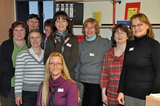 Mediatheks-Team im Januar 2012
