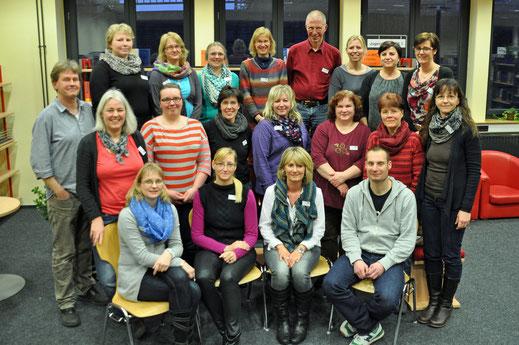 Mediatheks-Team im Januar 2014