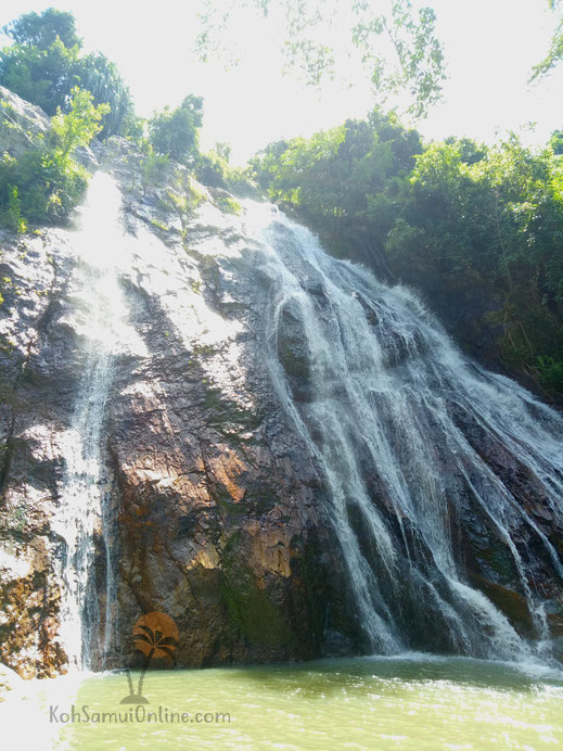 Koh Samui Sehenswürdigkeit Na Mueang Waterfall 1
