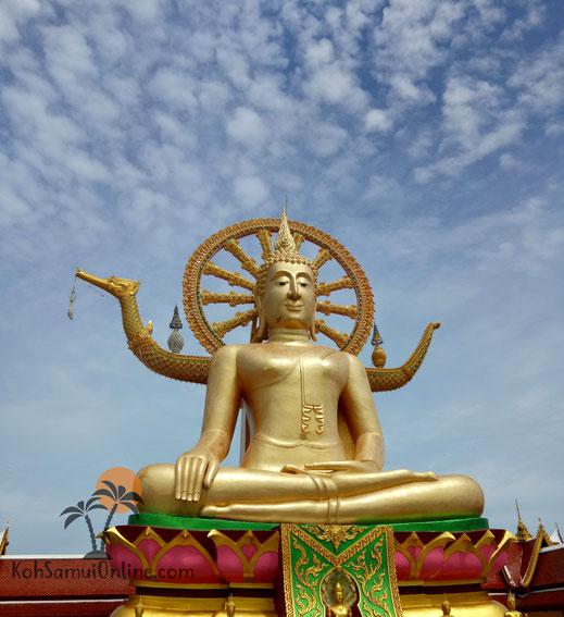 Koh Samui Sehenswürdigkeiten Big Buddha