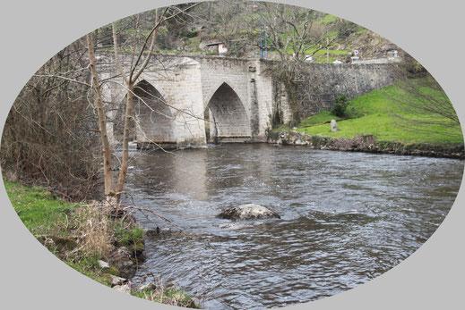 La Gartempe au pont Romain