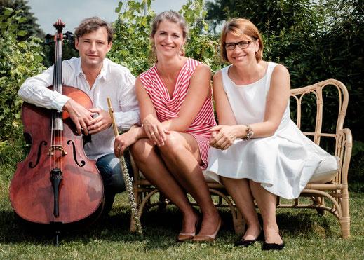 schelberg trio, das Klaviertrio der besonderen Art, Bernadette Schachschal, Lukas Helbig und Tatiana Bergh