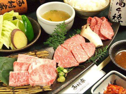 上神戸牛焼肉定食