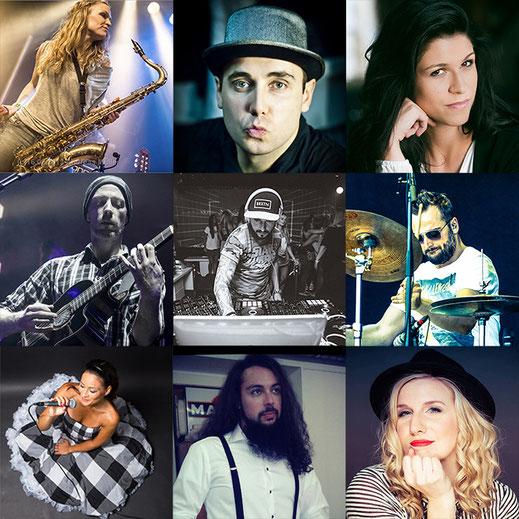 Die professionellsten SängerInnen und Musiker