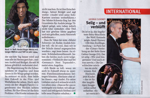 der erste Mister Schweiz, Davos, Schatzalp, The Rogers Family, André Roger