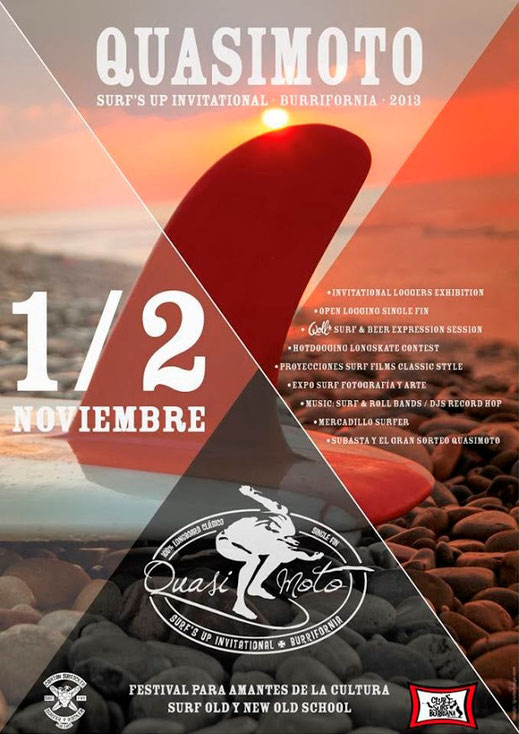 2º QUASIMOTO SURF´S UP INVITATIONAL BURRIFORNIA / 2013
