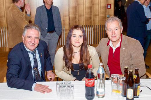 Rudolf Plangger, Sophie Maass und Claus Aniballi
