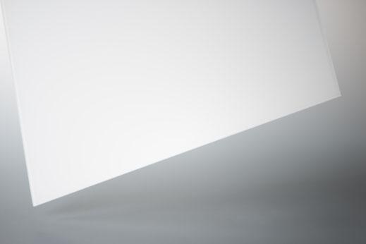 4mm ESG Glas Optiwhite weiß lackiert