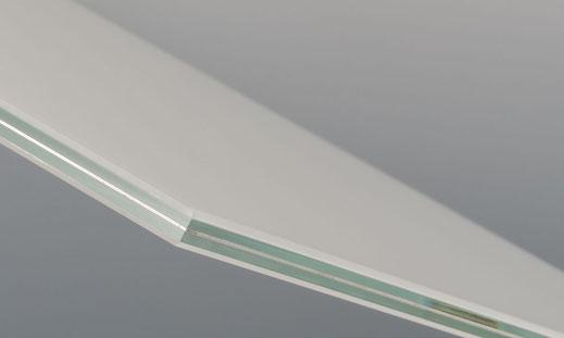 VSG Glas für Terassendach, Wintergarten oder Balkonüberdachung