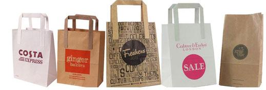 Printed Paper Bags UK