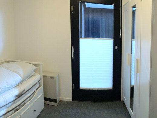 2.Schlafzimmer mit ausziehbarem Gästebett