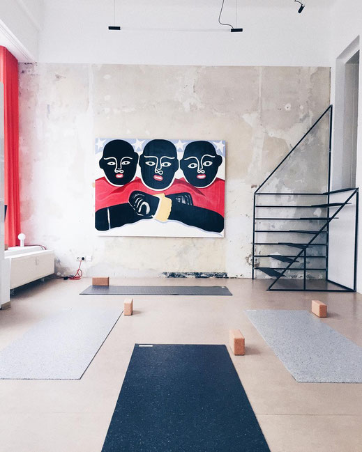 You can test and try the hejhej-mats yoga mats at the Mindt Design Studio in Leipzig.