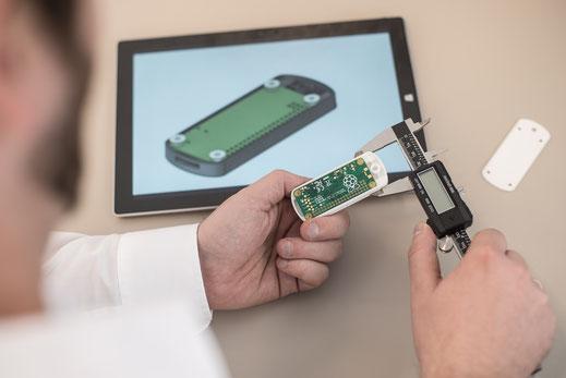 Kunststoffgehäuse, Lasersintern, Additive Manufacturing, Kleinserie