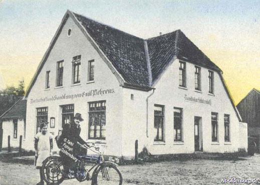 """Foto vom """"Tweelbäker Schützenhof"""" mit dem Oldenburger Fotografen Gustav Alexander Tahl (1930)"""