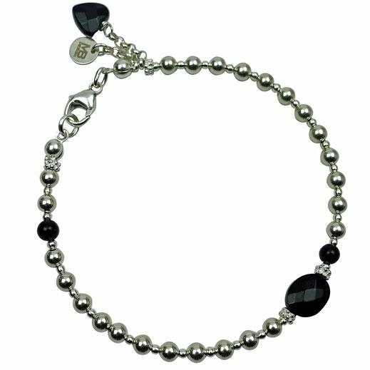 Damen-Armband Sterlingsilber mit Apatit