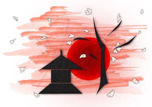Japanese Artwork (Grafik)