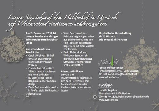 Weihnachtszauber, Urnäsch, Messe, Markt, Design Weihnachtsmarkt, Schlüsselbrett, Alu Designleiste, swissmade, handmade, Schweiz, Schlüsselaufbewahrung, Ordnung, Schlüssel, Designfilz, Dekoration, Garderobe, Flur, Interior