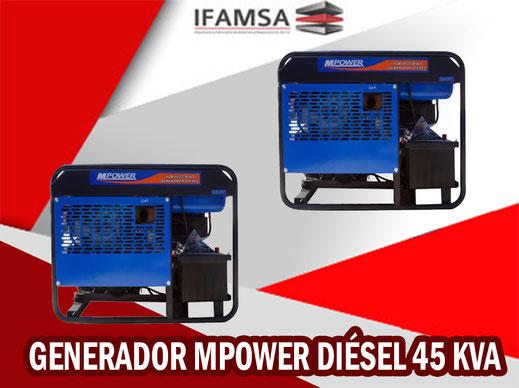 Generador Mpower Diesel 20 KVA