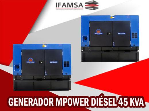 Generador MPOWER Diésel 20 KVA