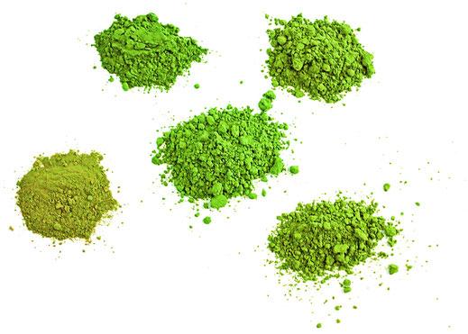 Bild: Matcha Tee Pulver verschiedene Qualität