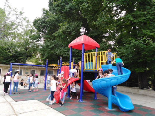 ICO: jetzt können die Kinder wieder spielen