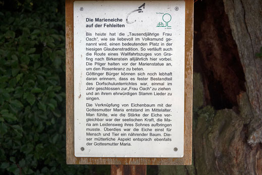 Tausendjährige Frau Oach bei Irschenberg
