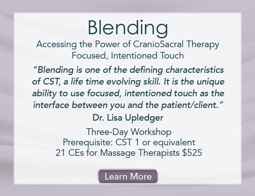 Blending: Accessing the Power of CranioSacral Therapy