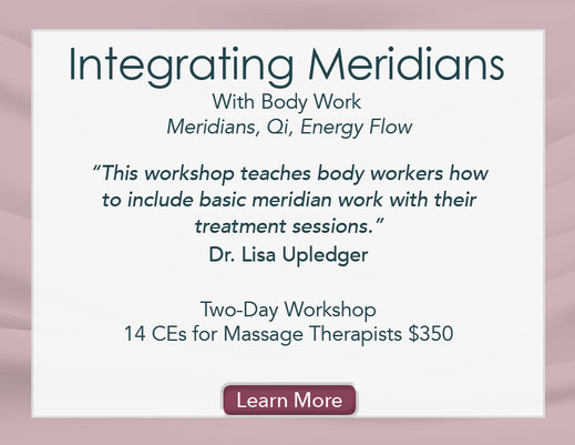 Integrating Meridians Into Body Work