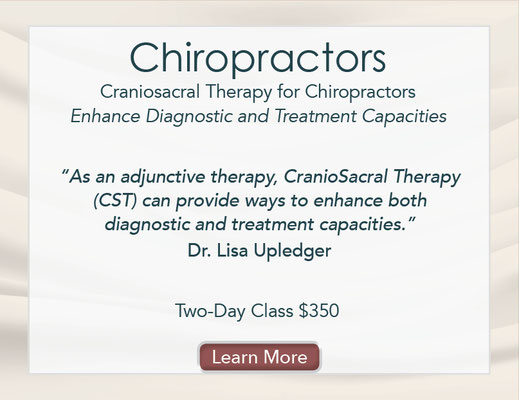 CranioSacral Therapy for Chiropractors Class