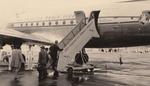 1952: USA-Reise