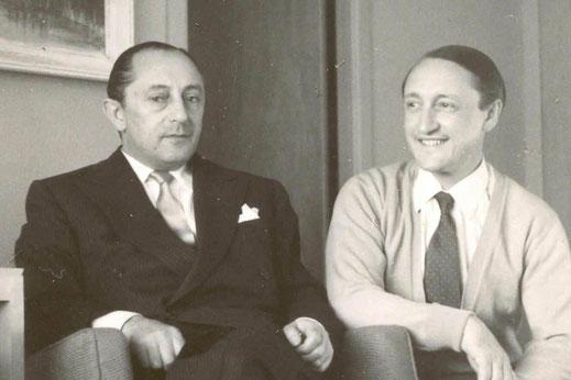 1952: Max Hoffman und Porsche Archivar Ghislaene Kaes