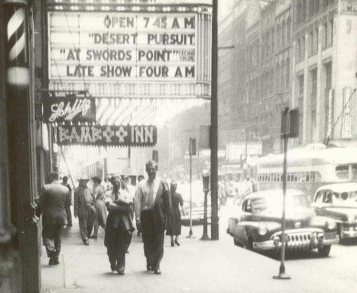 Erwin Komenda in New York, 1952