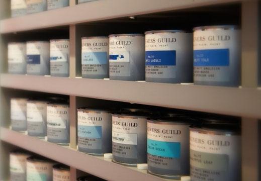 KB Interieur Hamburg Blankenese Innenarchitekt Interieurdesign Farben und Lacke von Designers Guild Paint