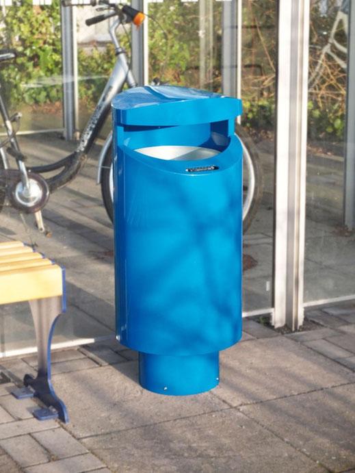 Produktbild: Mülleimer inkl. Aschenbecher