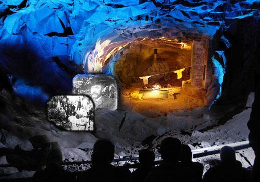 © Grotte de la pierre de Volvic