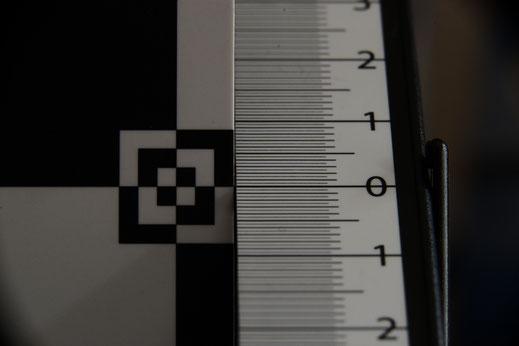 105mm +36 +20 mm +  F8 Distance 48cm