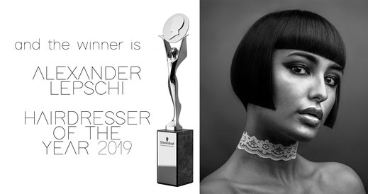 Austrian Hairdressing Awards 2019 - ALEXANDER LEPSCHI is HAIRDRESSER OF THE YEAR 2019