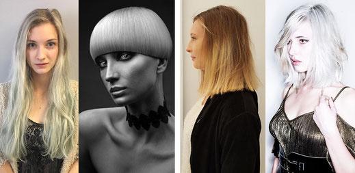 Vorher-Nachher Frisuren Gallerie