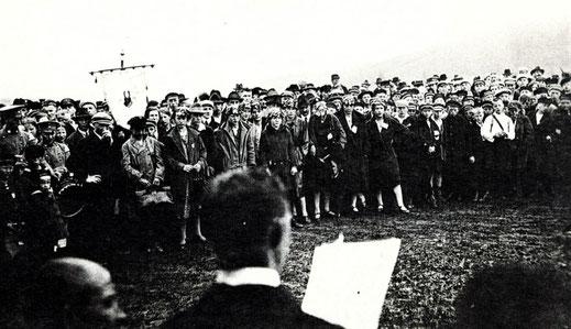 Siegerehrung 1925