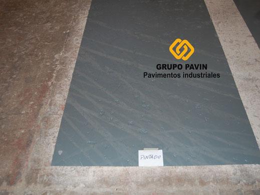 Pintado básico directo en suelos y pavimentos industriales de resinas en Barcelona