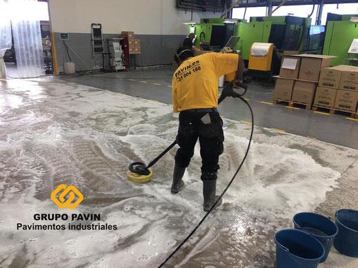Descontaminación del soporte