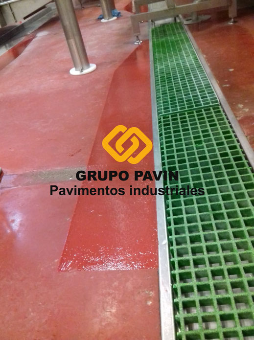 GRUPO PAVIN - Pavimentos Industriales | Reparaciones para industria cárnica - Resultado final de la reparación