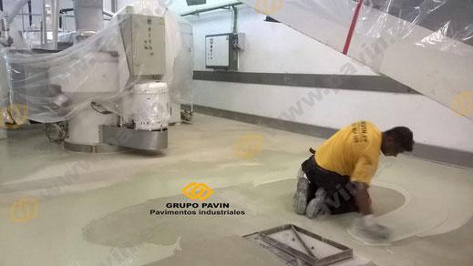Aplicaciones con poliuretano cemento