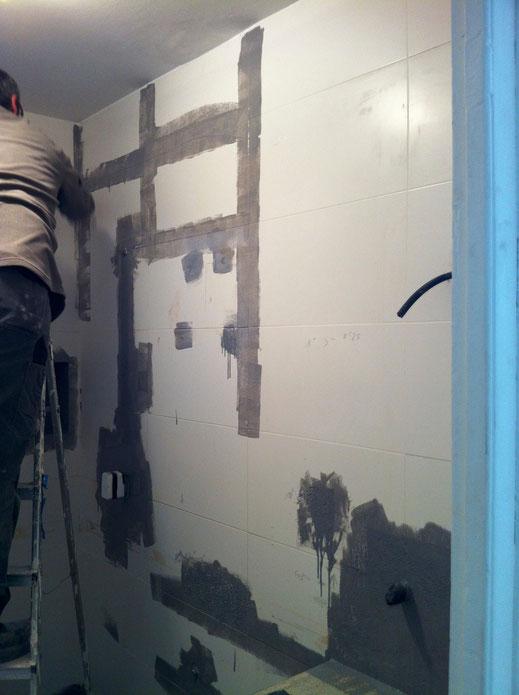 Microcemento sobre azulejos grupo pavin - Aplicar microcemento sobre azulejos ...